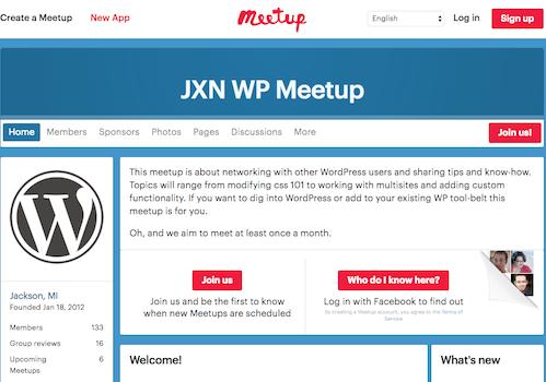 Jackson WP Meetup